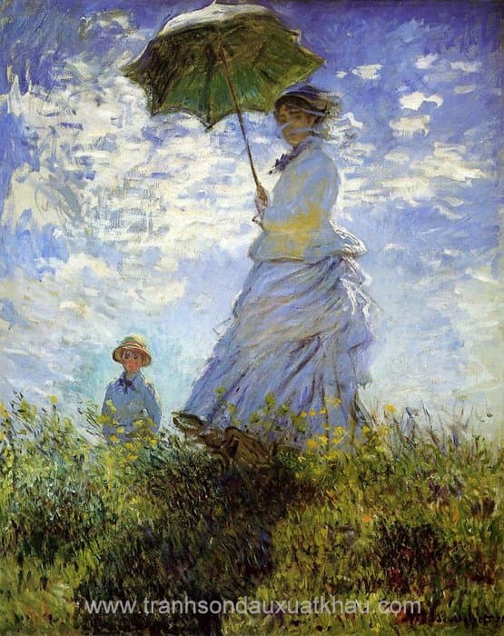 The Walk, Woman with a Parasol