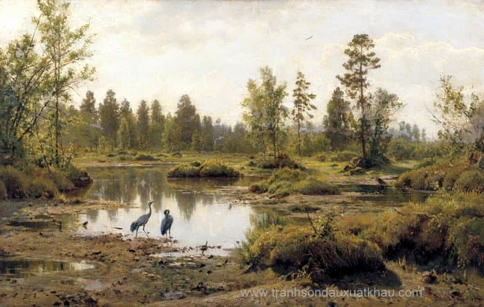 Marsh in Polesie