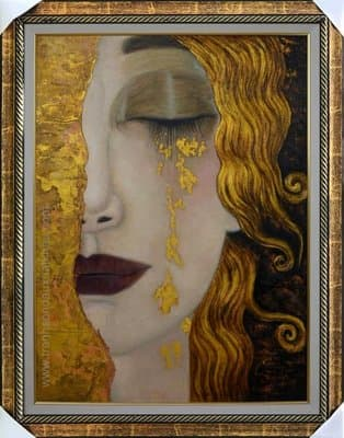 Golden Tears - Klimt